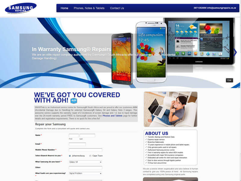 CMS Website Design - Content Management System