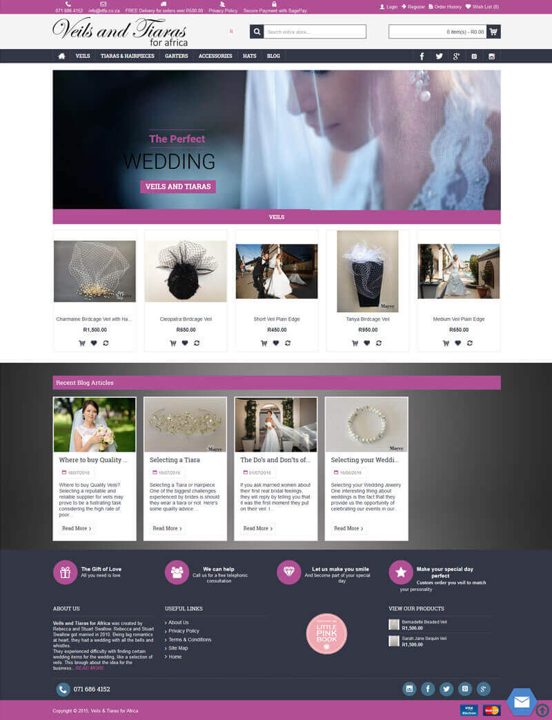 Ecomm Website Design - Online Shop - Online Store